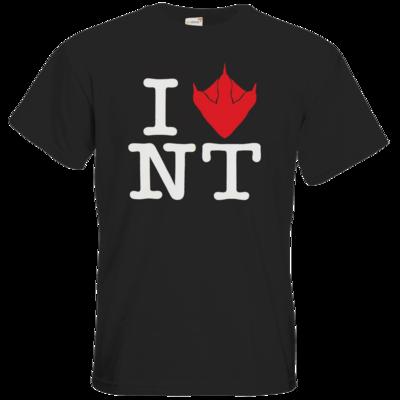 Motiv: T-Shirt Premium FAIR WEAR - I Love NT Cube 2.0