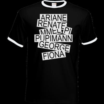 Motiv: T-Shirt Ringer - Insider
