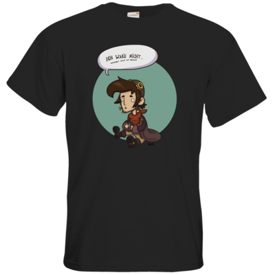 Motiv: T-Shirt Premium FAIR WEAR - Deponia Doomsday - Rufus wars nicht