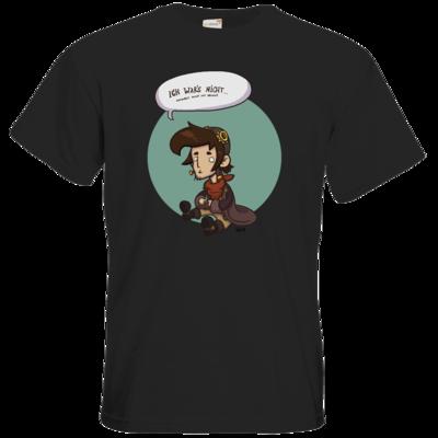 Motiv: T-Shirt Premium FAIR WEAR - Deponia Doomsday - Rufus wars nicht
