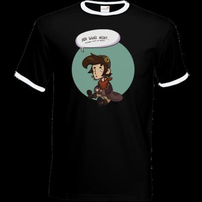 Motiv: T-Shirt Ringer - Deponia Doomsday - Rufus wars nicht