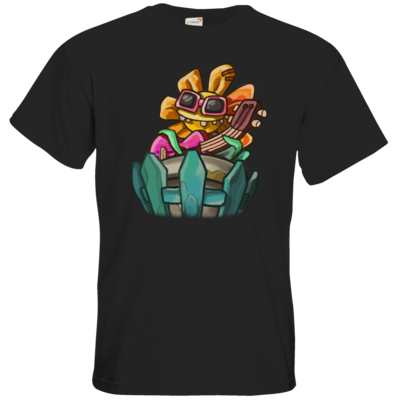 Motiv: T-Shirt Premium FAIR WEAR - Deponia Doomsday - Ronny