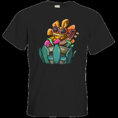 Motiv: T-Shirt Premium FAIR WEAR - Deponia Doomsday - Ronny