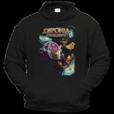 Motiv: Hoodie Classic - Deponia Doomsday - Artwork