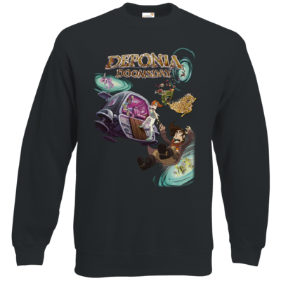 Motiv: Sweatshirt Classic - Deponia Doomsday - Artwork