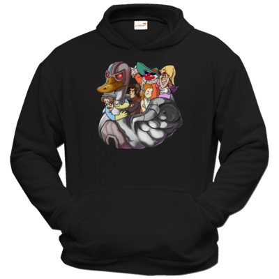 Motiv: Hoodie Classic - Deponia Doomsday - Swan