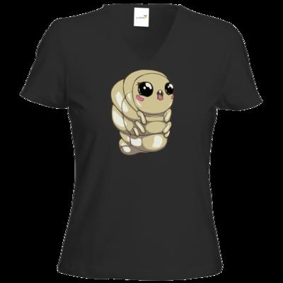 Motiv: T-Shirt Damen V-Neck Classic - Deponia Doomsday - Melinda