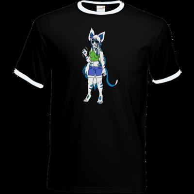 Motiv: T-Shirt Ringer - Maskottchen