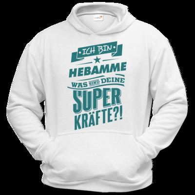 Motiv: Hoodie Classic - Superpower Hebamme - petrol