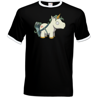 Motiv: T-Shirt Ringer - Deponia Unicaddy