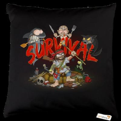 Motiv: Kissen Baumwolle - Survival