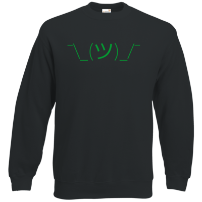 Motiv: Sweatshirt Classic - whatever gruen