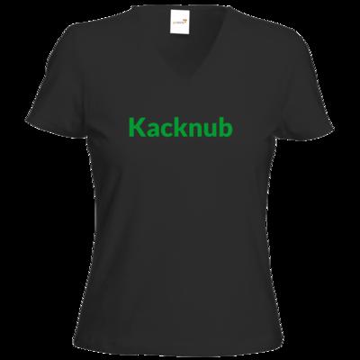 Motiv: T-Shirt Damen V-Neck Classic - Kacknub