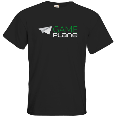 Motiv: T-Shirt Premium FAIR WEAR - Gameplane Logo gruenweiss
