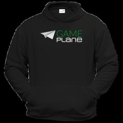 Motiv: Hoodie Classic - Gameplane Logo gruenweiss