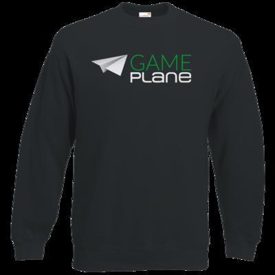 Motiv: Sweatshirt Classic - Gameplane Logo gruenweiss