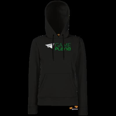 Motiv: Hoodie Damen Classic - Gameplane Logo gruen