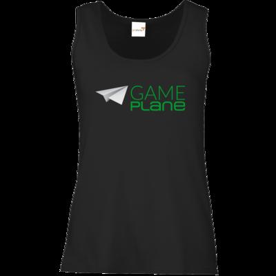 Motiv: Tank Top Damen Classic - Gameplane Logo gruen