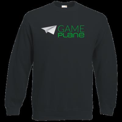 Motiv: Sweatshirt Classic - Gameplane Logo gruen