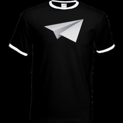 Motiv: T-Shirt Ringer - Gameplane Flieger