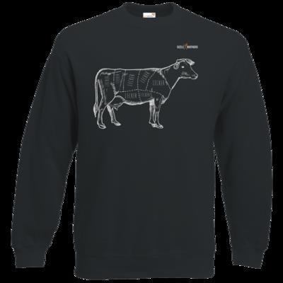 Motiv: Sweatshirt Classic - SizzleBrothers - Grillen - Meatmap