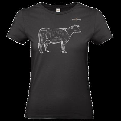 Motiv: T-Shirt Damen Premium FAIR WEAR - SizzleBrothers - Grillen - Meatmap