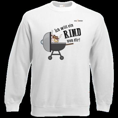 Motiv: Sweatshirt Classic - SizzleBrothers - Grillen - Ich will ein Rind