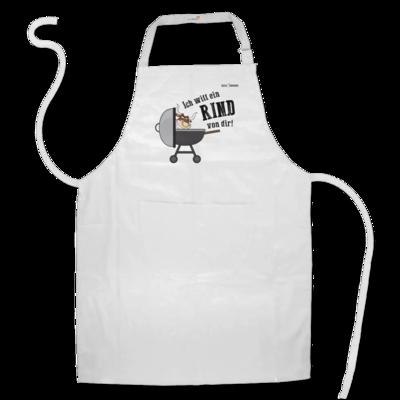 Motiv: Schürze - SizzleBrothers - Grillen - Ich will ein Rind