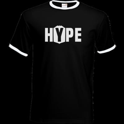 Motiv: T-Shirt Ringer - Hype