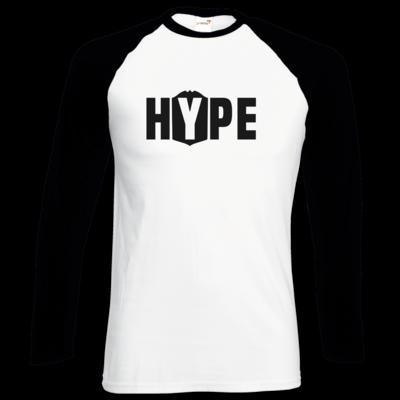 Motiv: Longsleeve Baseball T - Hype