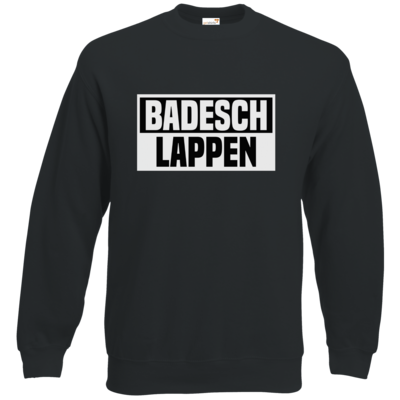 Motiv: Sweatshirt Classic - BADESCHLAPPEN