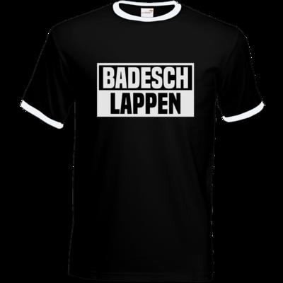 Motiv: T-Shirt Ringer - BADESCHLAPPEN