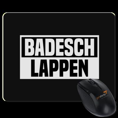 Motiv: Mousepad Textil - BADESCHLAPPEN
