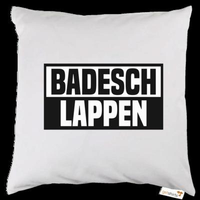 Motiv: Kissen - BADESCHLAPPEN