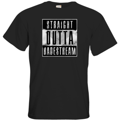 Motiv: T-Shirt Premium FAIR WEAR - Straight Outta Badestream
