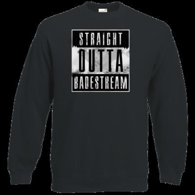 Motiv: Sweatshirt Classic - Straight Outta Badestream