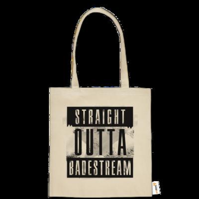 Motiv: Baumwolltasche - Straight Outta Badestream