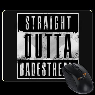 Motiv: Mousepad Textil - Straight Outta Badestream