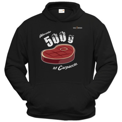 Motiv: Hoodie Classic - SizzleBrothers - Grillen - Carpaccio