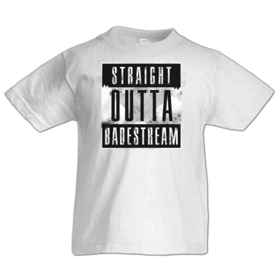 Motiv: Kids T-Shirt Premium FAIR WEAR - Straight Outta Badestream