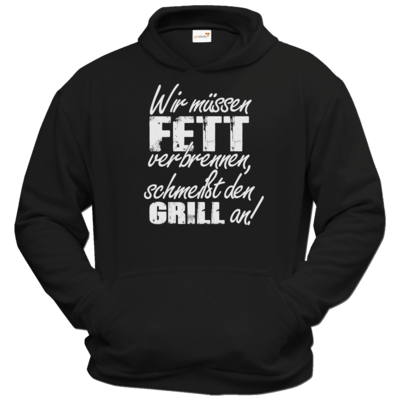 Motiv: Hoodie Classic - SizzleBrothers - Grillen - Fett verbrennen