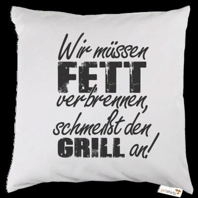 Motiv: Kissen - SizzleBrothers - Grillen - Fett verbrennen