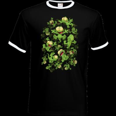 Motiv: T-Shirt Ringer - Lurchregen