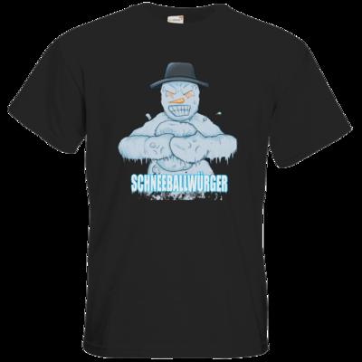 Motiv: T-Shirt Premium FAIR WEAR - Schneeballwuerger