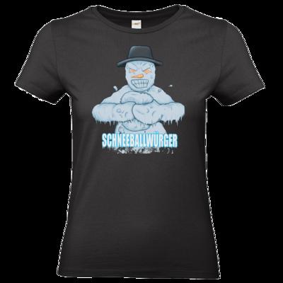 Motiv: T-Shirt Damen Premium FAIR WEAR - Schneeballwuerger