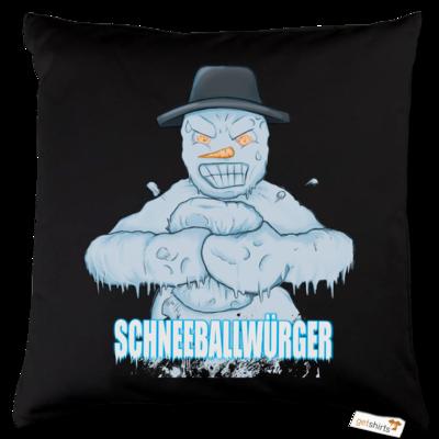 Motiv: Kissen Baumwolle - Schneeballwuerger