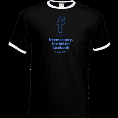 Motiv: T-Shirt Ringer - freemasonry2