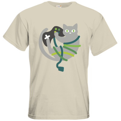 Motiv: T-Shirt Premium FAIR WEAR - Cat