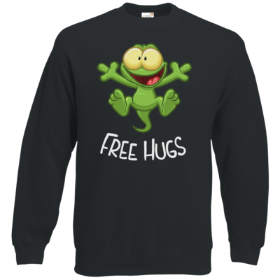 Motiv: Sweatshirt Classic - FreeHugs