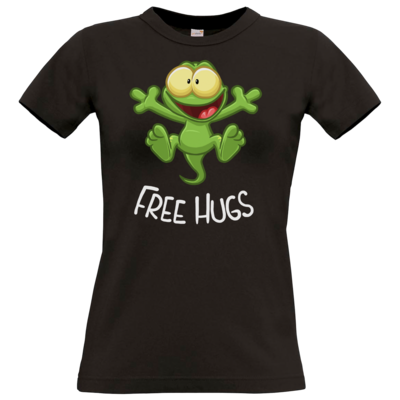 Motiv: T-Shirt Damen Premium FAIR WEAR - FreeHugs